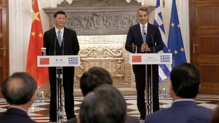 Грција и Кина потпишаа 16 договори за соработка