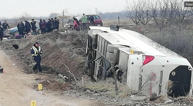 Оддеднаш се преврте: Фотографии од автобусот со македонски туристи во Србија