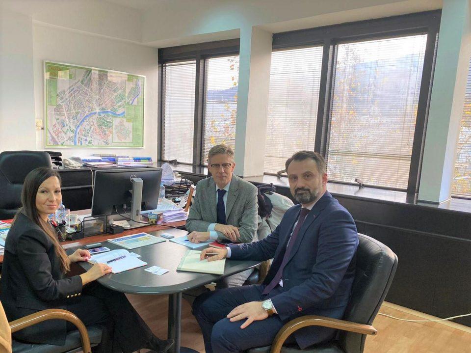 Патрик Мартенс се сретна со заменик министерот за економија Колемишевски