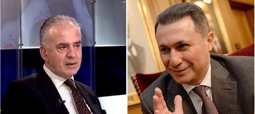 Груевски за Ружин: Toj е дилајла кој во Букурешт тврдеше дека влеговме во НАТО