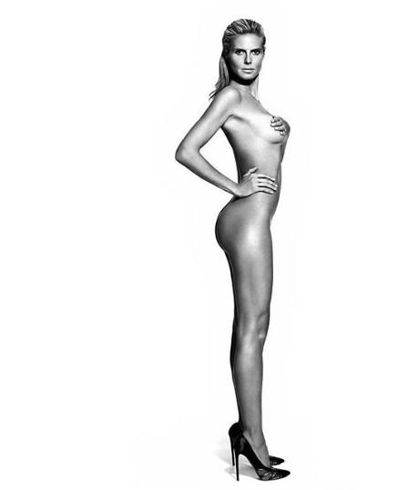 Тело без мана: Хајди Клум гола на 46 години