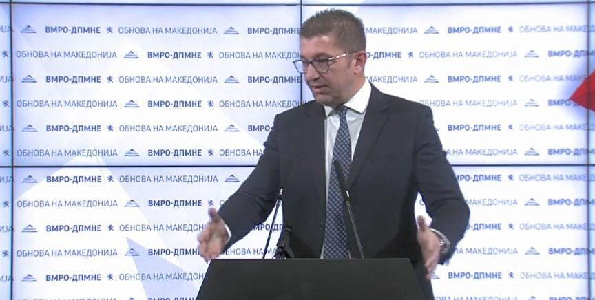 Откако денеска не се распушти, Мицкоски не гледа причина ВМРО-ДПМНЕ да учествува во работата на Собранието