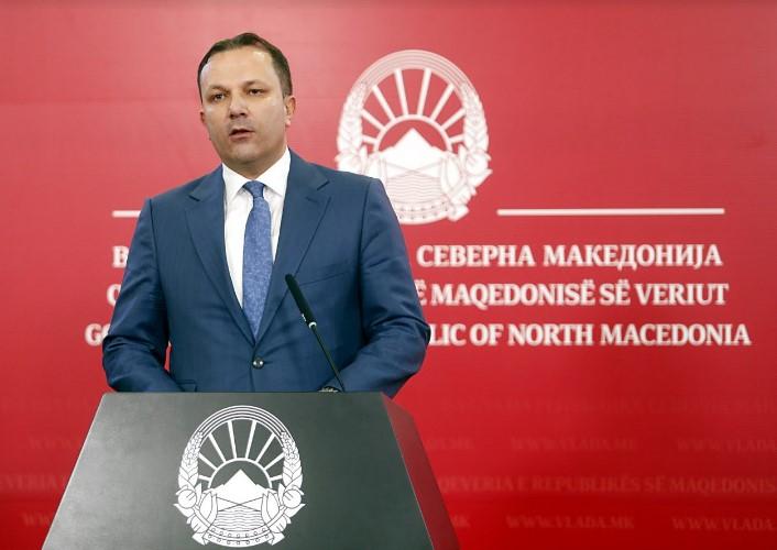 Спасовски: Сите постапки на секој член на извршната власт мора јасно да потврдат дека Владата и државата се во сигурни раце