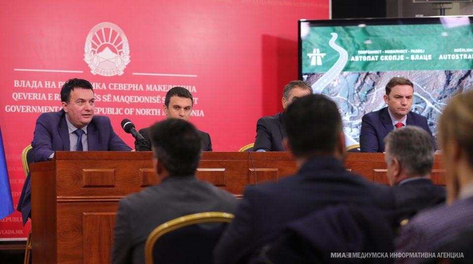 Владата ќе гради 200 000 сантиметри автопат кон Косово