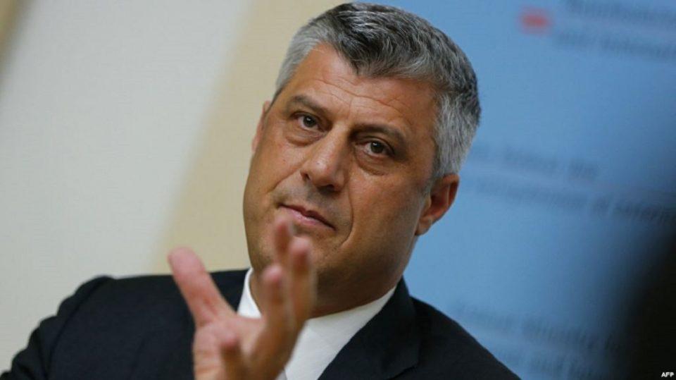 Тачи ги повика косовските граѓани да не ги почитуваат мерките на Владата за ограничување на движењето