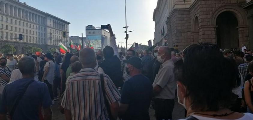 Протести во Софија: Бугарите бараат оставка од Бојко Борисов