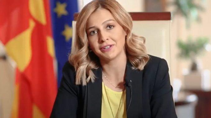 Ангеловска даде отчет на фејсбук за сработеното во изминатите 10 месеци