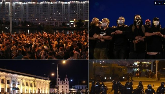 """""""Шарена револуција"""" и во Белорусија (ВИДЕО)"""