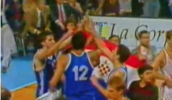 Поради хрватското знаме се прекина пријателството меѓу Дивац и Дражен (ВИДЕО)