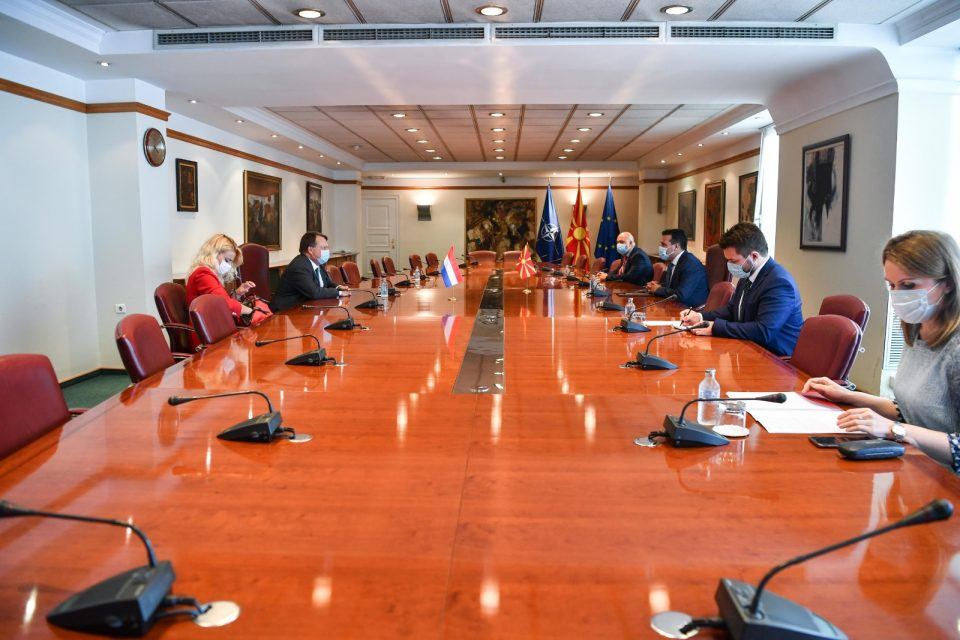 Средба Заев-Јан Коп: Сега е време за резултати на планот на економијата, владеењето на правото и борбата против корупцијата