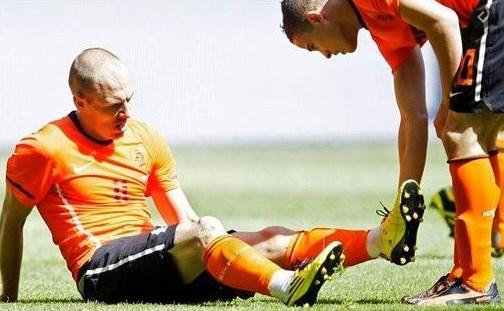 Само што заигра се повреди: Робен е печен за во пензија