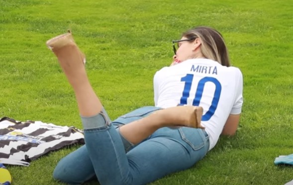 Мирта е најзгодната спортска новинарка во Хрватска (ВИДЕО)