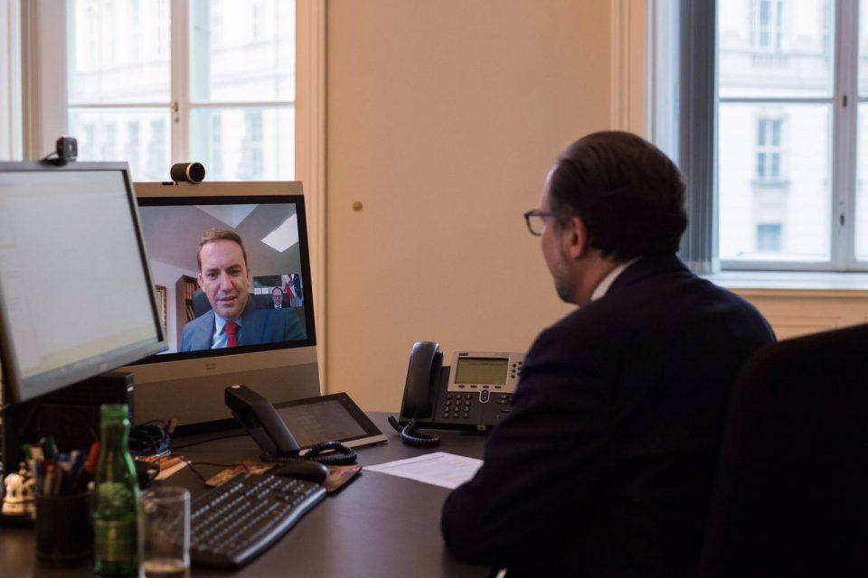 Османи-Шаленберг: Ни претстои финализација на приоритетите на австриското претседателство за европска интеграција на Западниот Балкан
