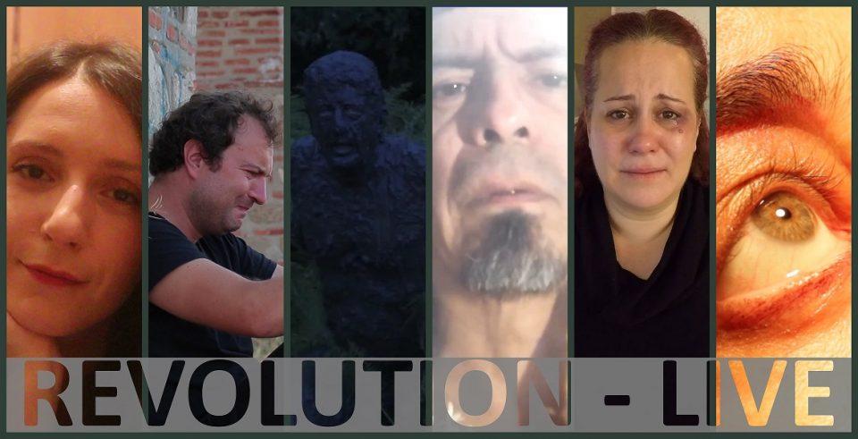 """Интернационален видео проект """"Револуција во живо"""" на режисерката Теа Беговска"""