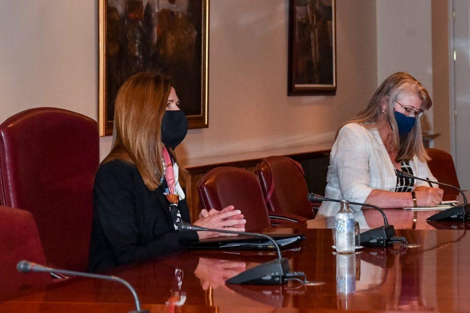 Средба Заев-Брнз – Директни инвестиции од САД, соработка во енергетиката, дигиталната економија и кибер безбедност