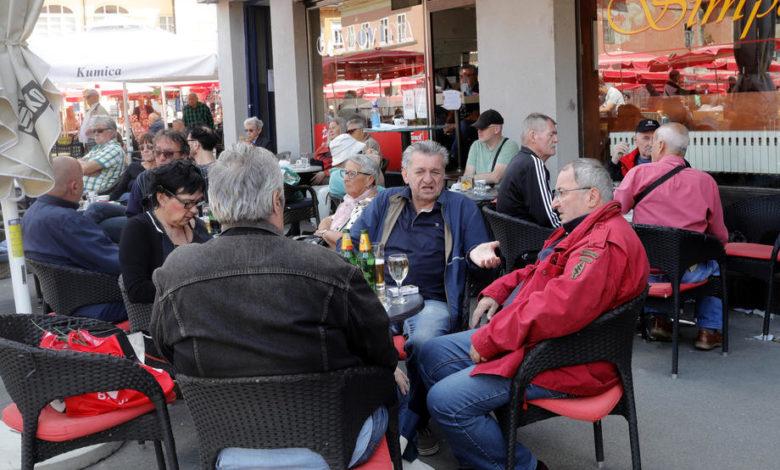 Хрватска ќе ја намали бучавата во кафулињата за луѓето да комуницираат без да се доближуваат