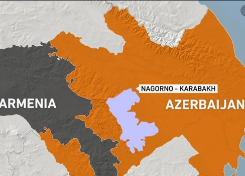 Ерменија и Азербејџан на раб на војна