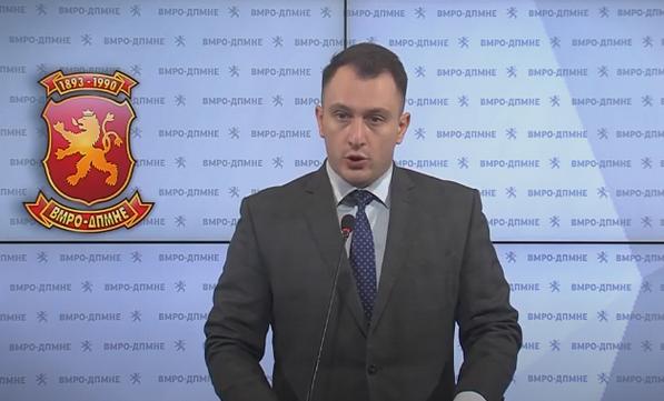 Стефан Андоновски од ВМРО-ДПМНЕ прашува-Кој е ставот на Владата за асимилаторските барања на Бугарија?