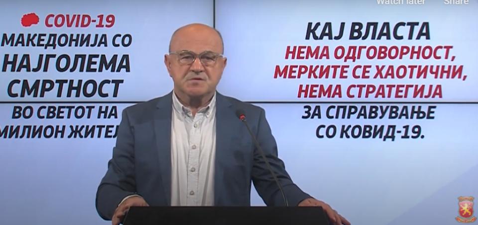 Д-р Вело Марковски: Македонија со други кадровски решенија може многу поуспешно да се носи со целокупната состојба во здравството