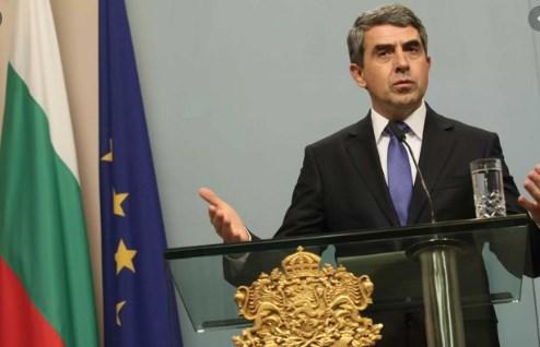 Плевнелиев: Лошо сценарио е ако Скопје реши дека добитна стратегија е да се претставува како жртва