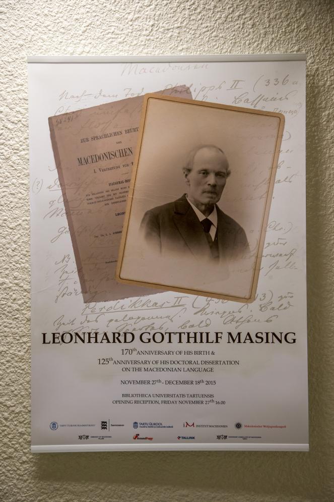 Леонард Готхилф Мазинг на денешен ден пред 130 години во Естонија ја одбранил првата докторска дисертација за македонскиот јазик