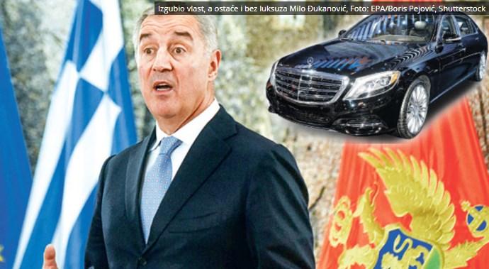 Новата власт ќе му го остави: Ѓукановиќ и натаму ќе се вози во Мајбах од 600.000 евра