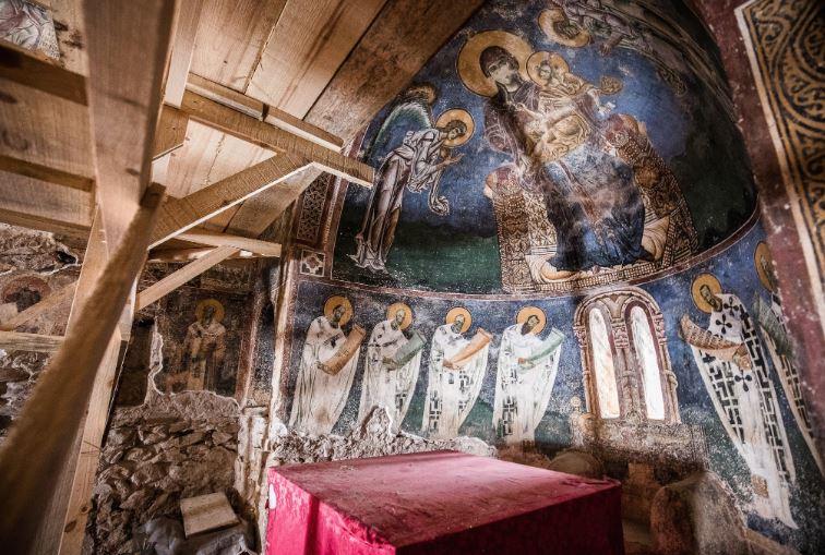 """Јасмина Шопова: Започната е процедура за впишување на црквата """"Св. Ѓорѓија"""" во Курбиново во листата на УНЕСКО"""