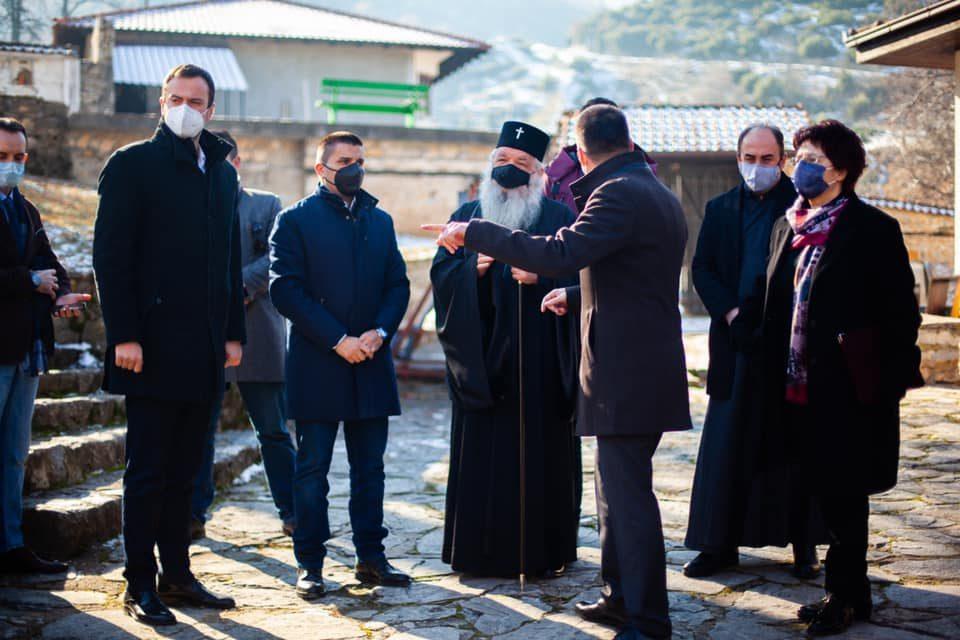 Стефоска : Со враќањето на автентичноста на главниот конак, манастирскиот комплекс во Пантелејмнон го добива својот заслужен и единствен лик