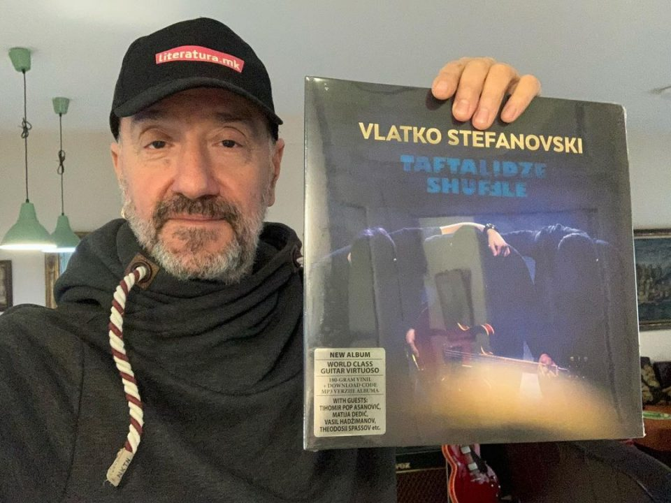 Новиот албум на Влатко Стефановски номиниран за најдобар во Европа