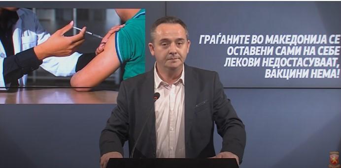 Николов: Филипче питачи за вакцини кај стигне