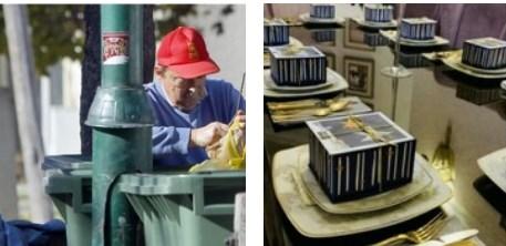 Заеви немаат контакт со реалноста: На бадникова вечера јадат со златни лажици (ФОТО)
