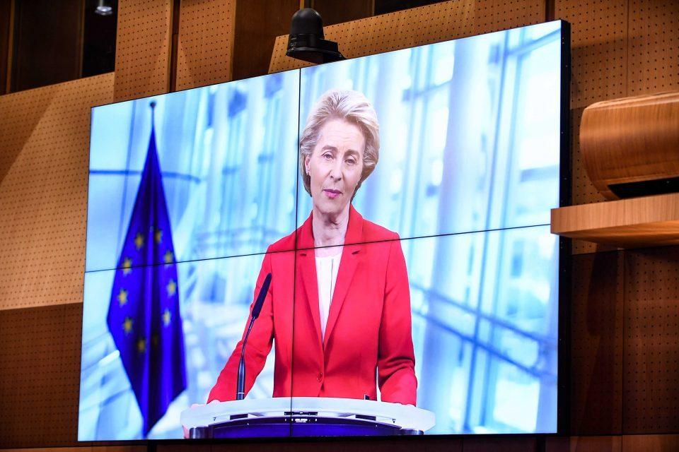 Фон дер Лајен: Вакцинираните американски туристи ќе може да дојдат во ЕУ