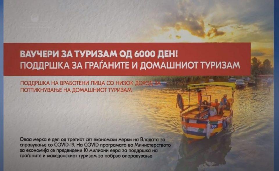 Бектеши: Во мај ќе биде објавен повикот за аплицирање за ваучери за домашен туризам