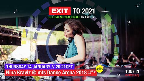Светска премиера на настапите на Нина Кравиц и Амели Ленс: 14 и 15 јануари на ЕГЗИТ ТВ