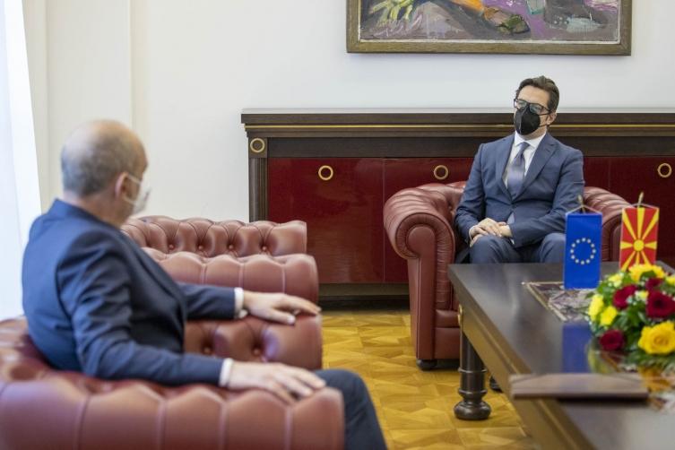 Пендаровски-Гир: Ниедна земја членка на Унијата не смее преку поставување на ирационални барања да ја доведува во прашање европската иднина на нашиот народ