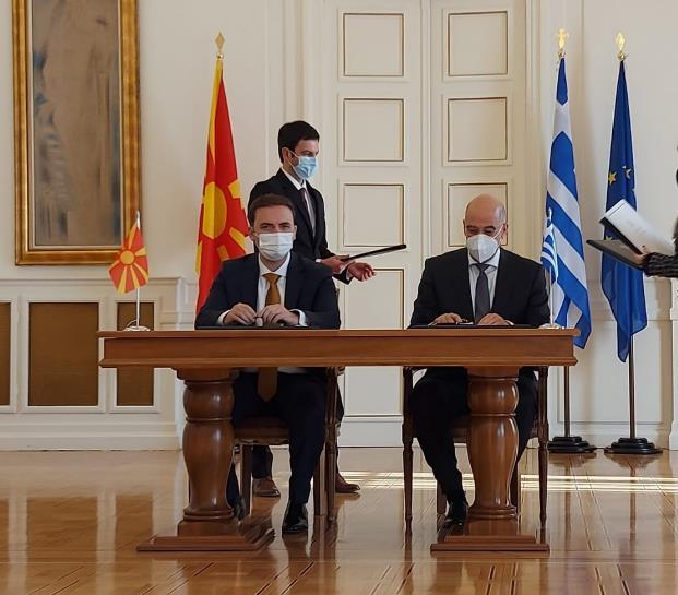 Османи-Дендиас: Грција и Македонија треба да бидат пример за пријателство на Балканот