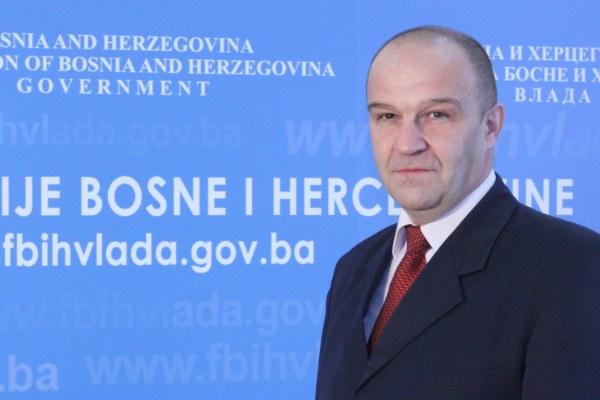 Уапсен Енвер Биједиќ, пратеник во Парламентарното собрание на БиХ