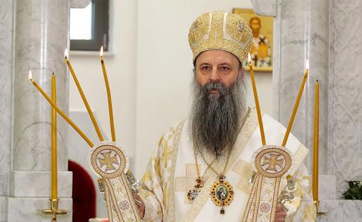 Порфириј избран за нов српски патријарх, денеска ќе биде востоличен на литургија во Белград