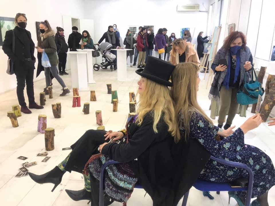 """Гордана Винчиќ ја исполни галеријата """"Ко-Ра"""" со пролетни вибрации и висока еколошка свесност"""