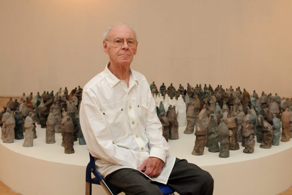 Ретроспективна изложба на Петар Хаџи-Бошков во Стоби