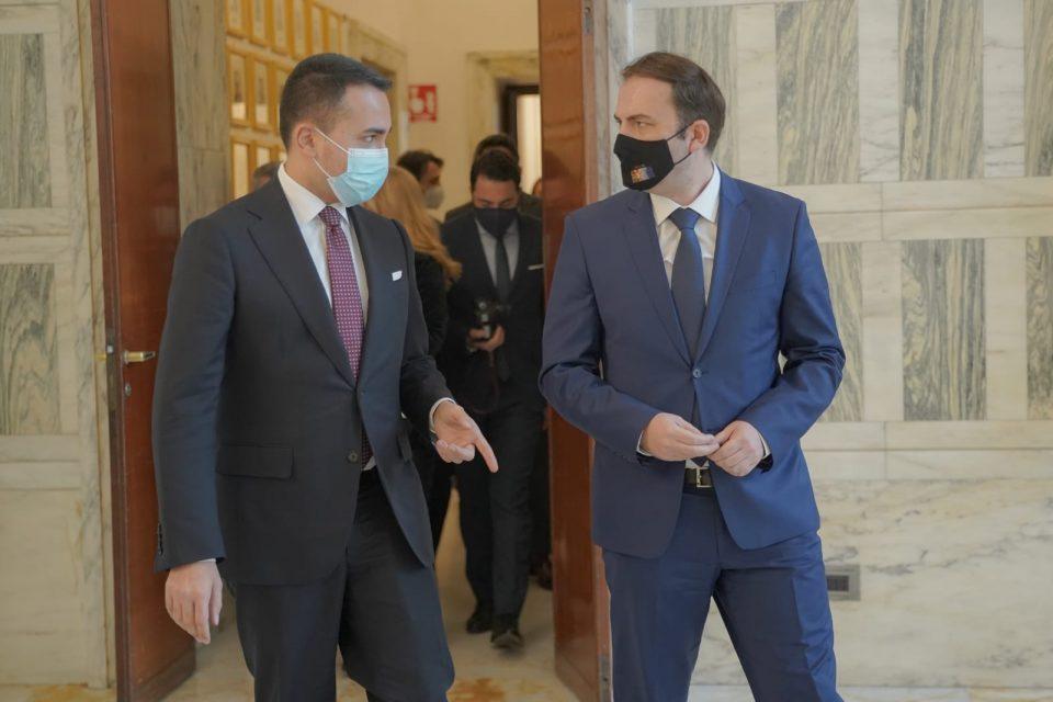Средба Османи- Ди Мајо во Рим: Продлабочување на билатералната соработка и партнерството во ЕУ и НАТО