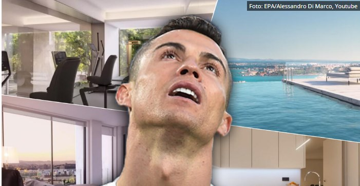 Огромен кревет за уживање со Георгина: Погледнете каде ужива Роналдо (ВИДЕО)