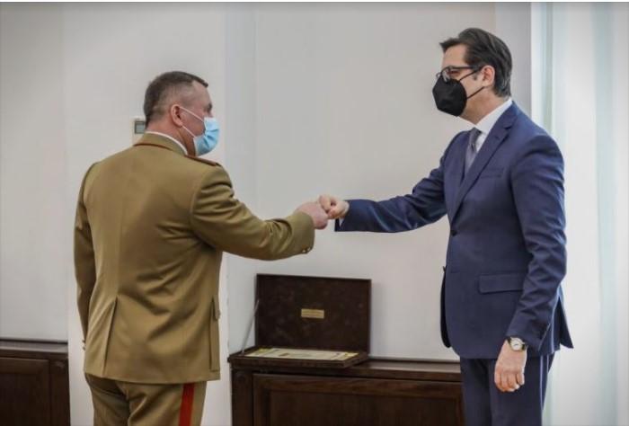 Пендаровски на средба со Началникот на Генералштабот на Вооружените сили на Романија