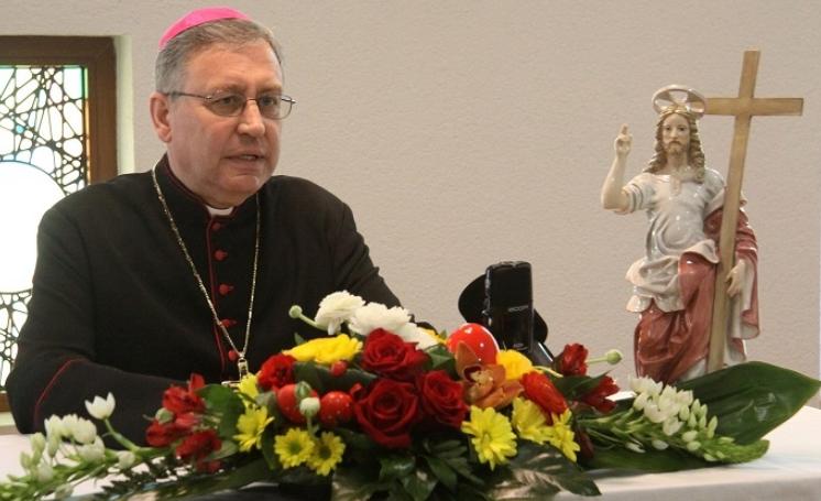 Велигденска порака на бискупот Киро Стојанов-Со голема тага и тешко срце донесов одлука светите литургии да бидат без народ