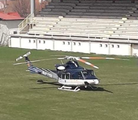 Лашкоска: Заев денеска во Прилеп пристигна, ни помалку, ни повеќе, со хеликоптер!