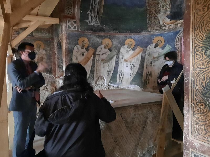 Грчките конзерватори ги посетија Трескавец, Курбиново, Хераклеја и Охрид