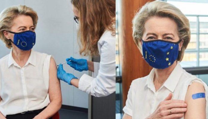 Урсула фон дер Лајен се вакцинираше против коронавирусот