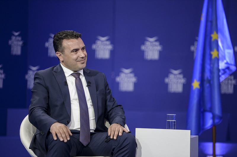 Атинската трговско-индустриска комора му додели одликување на премиерот Заев за неговиот придонес за унапредување на економските и политичките врски меѓу двете земји