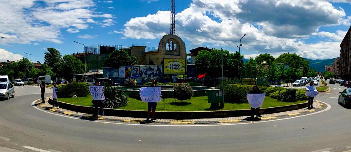 """Нов протест денеска на Иницијативата """"Култура или фис-култура"""" против директорот на НУЦК """"Антон Панов"""""""