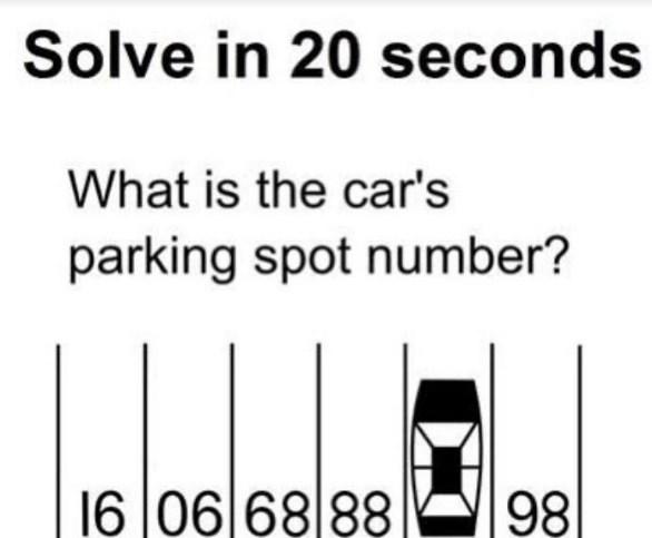 Имате ли логика: Oваа загатка треба да ја решите за помалку од 20 секунди (ФОТО)